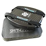 SmithShaper Ab & Squat Roller Exercise Device AND Exercise Pad Bundle - Full Body Workout! Tone, Shape, and Strengthen Abs, Butt, Core, Legs, Thighs, Chest, Arms | Exercise Equipment