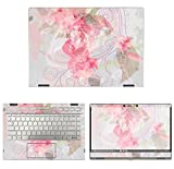 decalrus - Protective Decal Floral Skin Sticker for HP Pavilion X360 14M-CD0003DX (14'' Screen) case cover wrap HPpavilionX360_14M-171