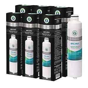 Compatible Replacement for Samsung DA29-00020B, DA29-00020A, DA2900019A, HAF-CIN/EXP, HAF-CIN-EXP, Kenmore 46-9101 Refrigerator Water Filter by OnePurify RFC-P07 (6PK)