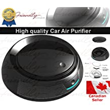 Car Air Purifier with activated carbon filter Ionic Air Purifier HEPA Filter