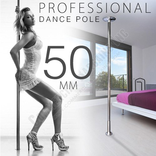 Xperience, Formally Known As X-Dance 50mm Dance Pole Kit Competition Commercial Portable Fitness Exercise By Commercial Bargains