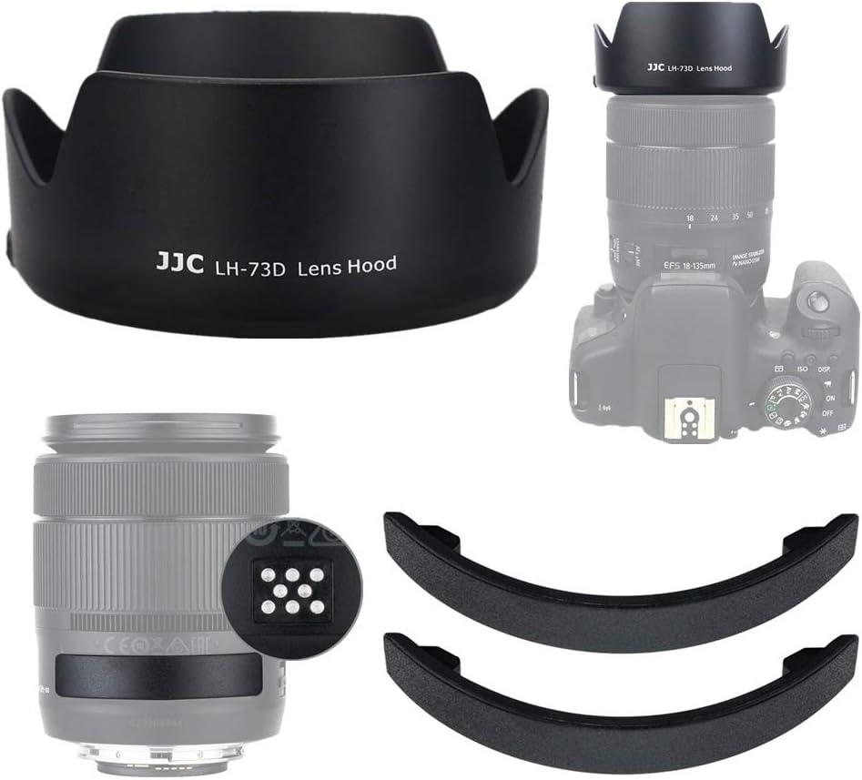 Jjc Gegenlichtblende Für Canon Ef S 18 135mm F Kamera