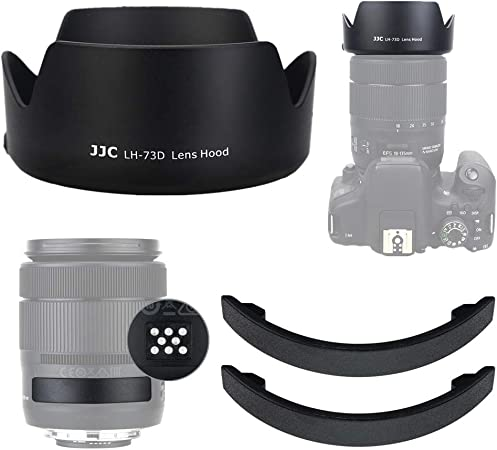 Jjc Lens Hood For Canon Ef S 18 135 Mm F Camera Photo