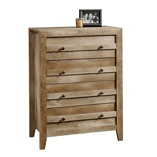 Sauder 418175 Dakota Pass 4-Drawer Chest, L: 32.68'' x W: 17.52'' x H: 43.23'', Craftsman Oak finish by Sauder