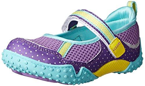 Tsukihoshi Child 45 Mary Jane Sneaker , Purple/Mint, 11 M US
