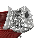 Twin Double Shopping Cart Cover for Baby Siblings