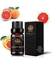Grapefruit Aromatherapy Essential Oil, 100% Pure Grapefruit Scent Essential Oil for Diffusers, Therapeutic Grade Aromatherapy Grapefruit Scent Essential Oil Fragrance for Massage Home 0.33oz-10ml