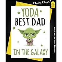 Funny Fathers Day Birthday Card - Yoda Best DAD Love You I Do - Star Wars C97