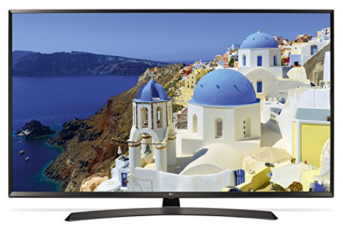 LG 55UJ634V 55' 4K Ultra HD Smart TV Wi-Fi Black LED TV - LED TVs (139.7 cm (55'), 4K Ultra HD, 3840 x 2160 pixels, LED, Flat, 16:9)