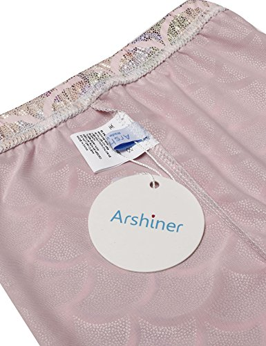 Arshiner Full Length Mermaid Fish Scale Print Pants