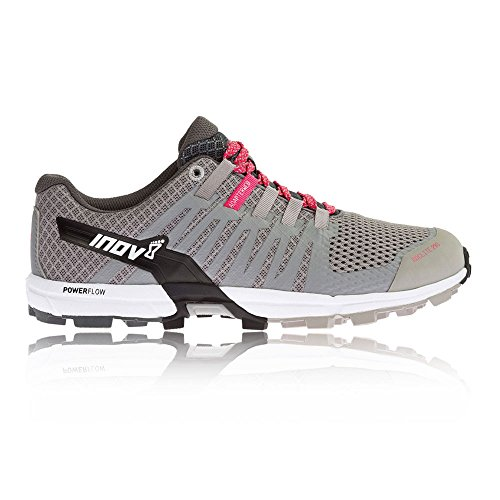 newest for sale inov-8 Women's Roclite 290 Trail Runner Grey / Pink / White clearance perfect ZTNwGRx