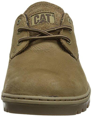 Cat Footwear STANCE - zapatos con cordones de cuero hombre Marron (Treemoss)