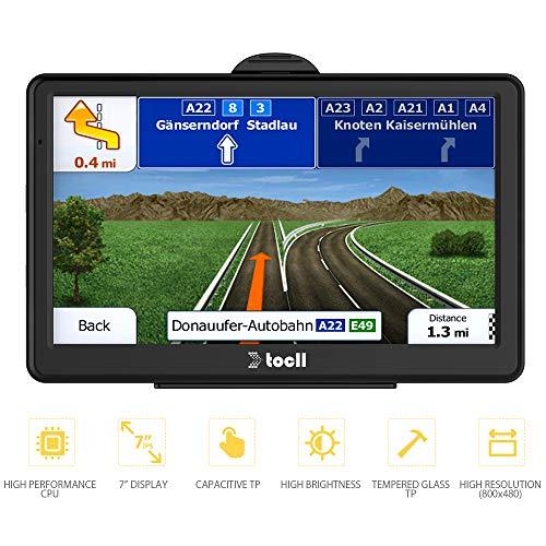 GPS Navigation,GPS Navigation for Car,7 Inch Car GPS Navigation System 8GB Touch Screen Vehicle GPS Navigator with Lifetime Map Update (Best Car Navigation System Uk)