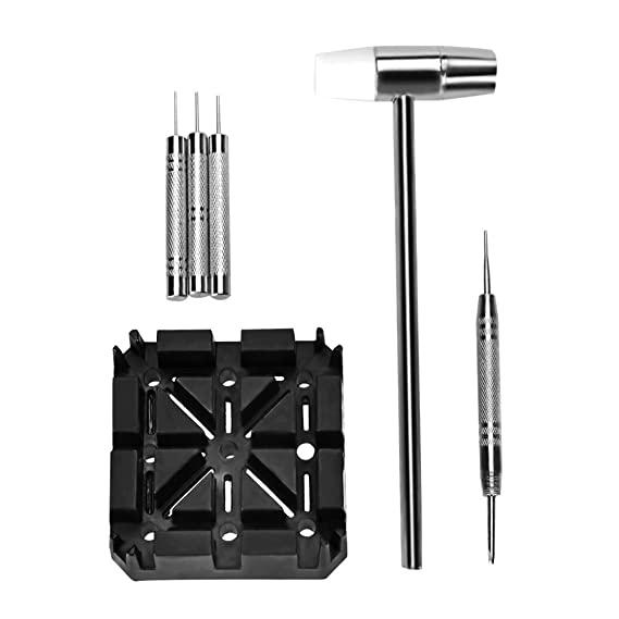OTraki Kit Reparación del Reloj 6Pcs Kit Relojero Destornillador ...