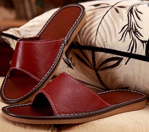 Chaussons fashion TY TX0016 pour Bordeaux Femme OBw8Ewq