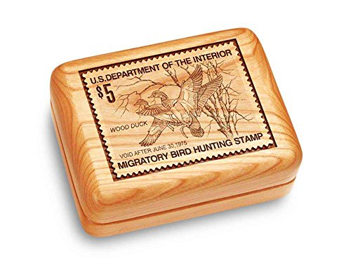 Heartwood Creations Music Box 4x3 - Wood Ducks Stamp - Claire de ()