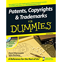 Patents, Copyrights and Trademarks For Dummies (English Edition)