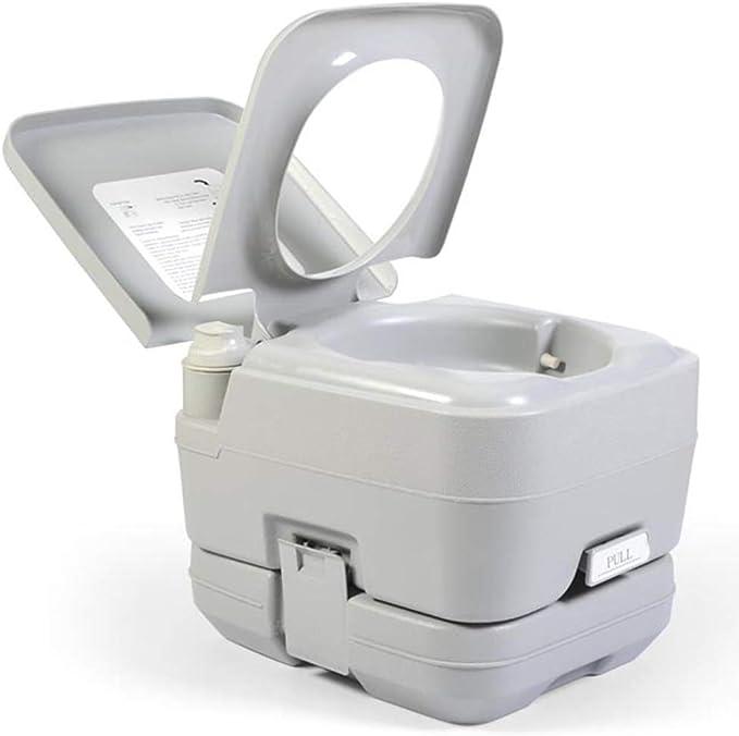 Yunjie Inodoro Portátil WC Quimico 10L Vater baño con Bomba ...