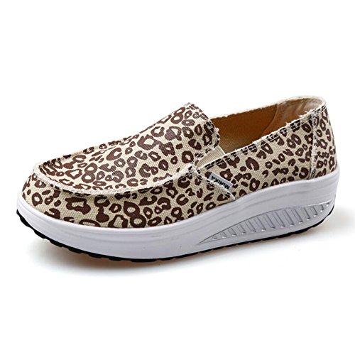 Primavera Sneakers Slip Loafers Shake E Mocassini Flat Donna I Da ai Athletic Guida Fitness Platform Shaking Xue Scarpe Shoes Autunno anSAq4wS0t