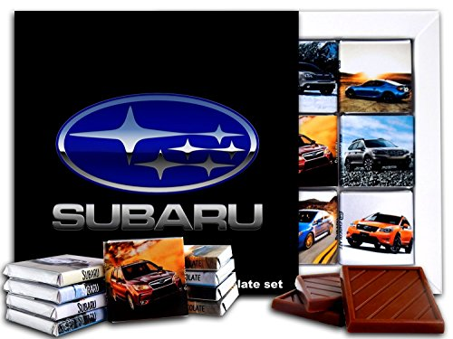 DA CHOCOLATE Candy Souvenir SUBARU Chocolate Gift Set 5x5in 1 box (Logo Prime)(0619) -