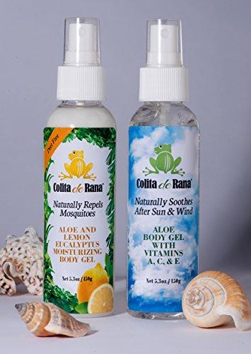 Naturally Repels Mosquitoes - Aloe & Lemon Eucalyptus Bod...