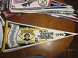 1990 Pittsburgh Pirates Pennant scroll NL Eastern div champions b1