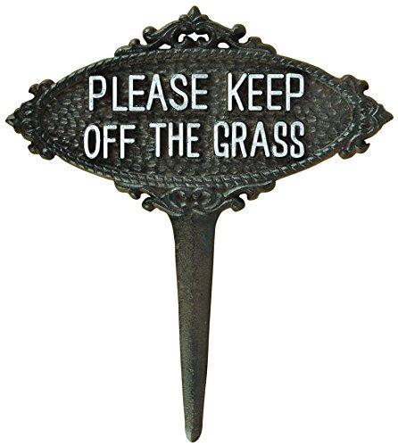 (Esschert Design TT207 Series Please Keep Off The Grass)