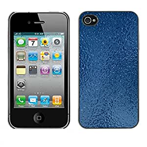 Exotic-Star ( Texture Frozen Ice ) Fundas Cover Cubre Hard Case Cover para Apple iPhone 4 / 4S