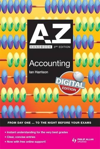 A-Z Accounting Handbook: Digital Edition (A-Z Handbooks) by Hodder Education Publishers