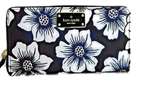 Kate Spade Blake Avenue Neda Polyester Zip Around Wallet (Printed Floral) by Kate Spade New York