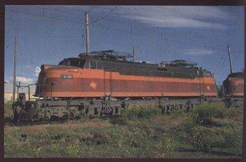 Chicago Milwaukee Pacific Electric Locomotive E78 Montana Alco Railroad Postcard ()