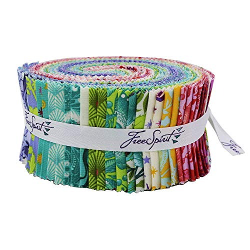 Pinkerville 40pc Design Roll by Tula Pink 2.5