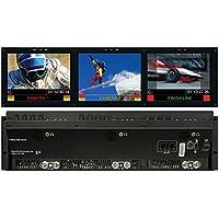 Marshall Electronics V-R653-IMD-3GTE   Triple 6.5inch Rack Mounted Monitor Set