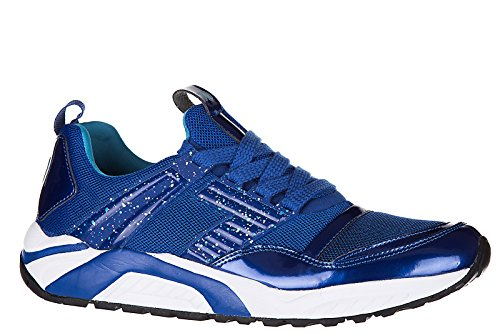 Emporio Armani EA7 chaussures baskets sneakers homme 7.0 trainer blu