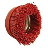 """Best Nylon Abrasive Cup Brushes - AES Industries Red Nylon Filament Abrasive 6"""" Cup Review"""