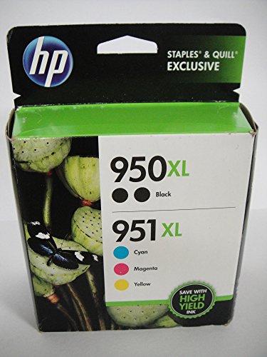 HP 950XL Yield Black Cartridges