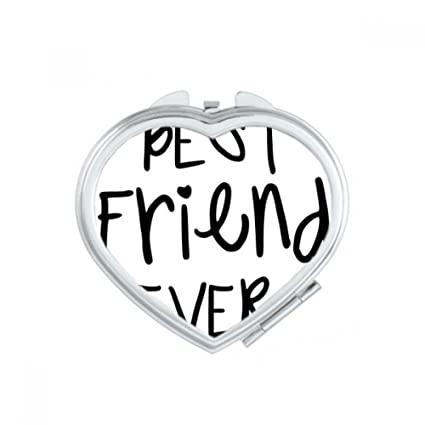 Amazon.com: Friendship Best Friend Ever Words Quotes Heart ...
