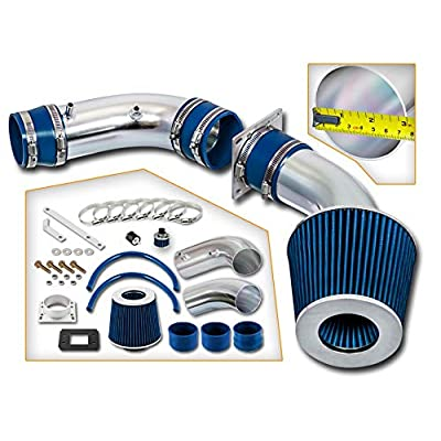 Rtunes Racing Cold Air Intake Kit + Filter Combo BLUE Compatible For 88-95 Toyota 4Runner / Pick Up / T100 3.0L: Automotive