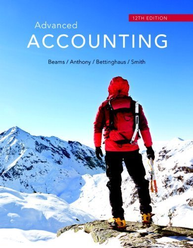 By Floyd A. Beams Advanced Accounting (12th Edition) (12th Twelfth Edition) [Hardcover]