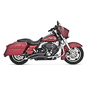 Vance & Hines Big Radius 2 into 2 Exhaust Black 46042