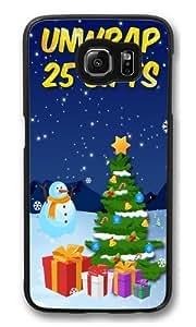 25 days of Christmas.jpeg Custom Samsung Galaxy S6/Samsung S6 Case Cover Polycarbonate Black