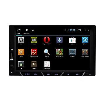 4.4 Android GPS radio de coche BT 7 pulgadas 2 DIN navegaci¨®n GPS