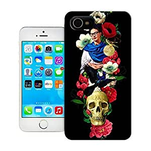 TYH - Unique Phone Case Skeleton skull head arts map Mexique Skull Hard Cover for iPhone 6 4.7 cases-buythecase ending phone case