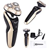 Braun Shaver Usb - Hair Salon Rotary 3D Rechargeable Washable Men's Cordless Electric Shaver Razor Deluxe