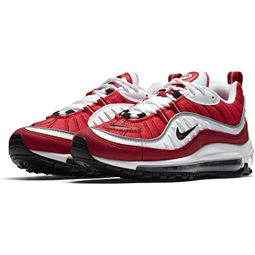 W NIKE Red Black Donna Scarpe 101 98 Air Max da White Multicolore Gym Fitness Ar47drn