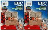 EBC Double-H Sintered Metal Brake Pads FA347HH (2 Packs - Enough for 2 Rotors)