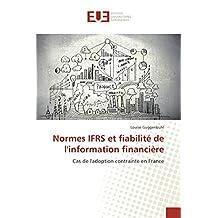 NORMES IFRS ET FIABILITE DE L INFORMATION FIN