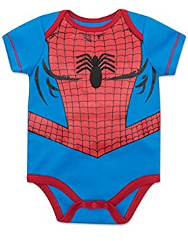 Marvel Baby Boys' 5 Pack Onesies - The Hulk, Spiderman, Iron Man & Captain America (18 Months) 2