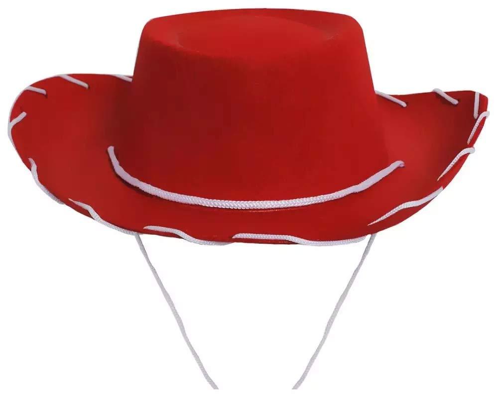 Children's Cowboy/Cowgirl Red Hat Costume Jessie Style by Koolstuffs
