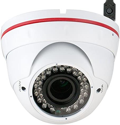 GW Security 1 3 Color Sony CMOS 1000TVL 720P 2.8-12mm Varifocal Zoom Lens Security Camera for Indoor and Outdoor Use